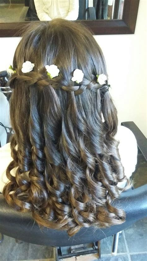 cute hairstyles for first communion first holy communion hair do first holy communion