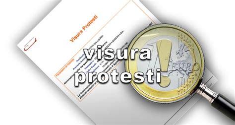 di commercio ufficio protesti visura protesti certificati e pratiche