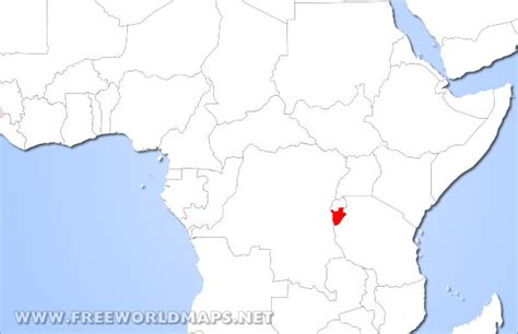 where is burundi on a world map where is burundi located on the world map