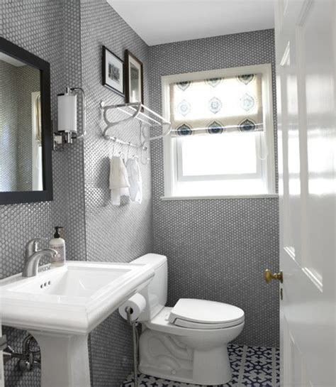 Blue Grey White Bathroom Images