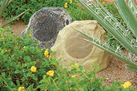 Rock Garden Speakers Garden Speakers 171 Real Log Style