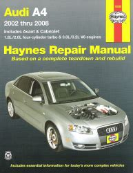 online car repair manuals free 2003 audi a4 regenerative braking 2002 2008 audi a4 haynes repair manual
