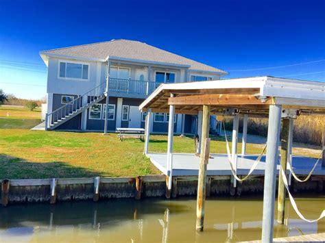 boat dock for rent near me big blue crab waterfront 5br slidell homeaway slidell