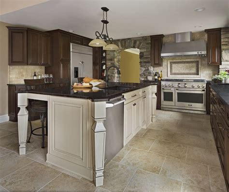 Merillat Kitchen Islands 150 Best Images About Kitchens On Pewter Transitional Kitchen And Cherries