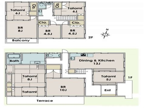 japanese home floor plan new traditional japanese house