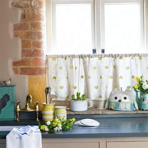 Fabric Kitchen Curtains Decor Best Window Curtain Fabrics For Cool Eco Friendly Summer Decorating