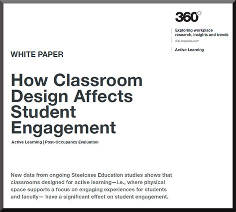 does classroom layout affect learning from steelcase how classroom design affects student