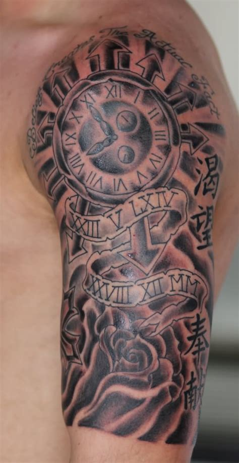 half arm tattoos for men half sleeve tattoos for designs ideas and meaning