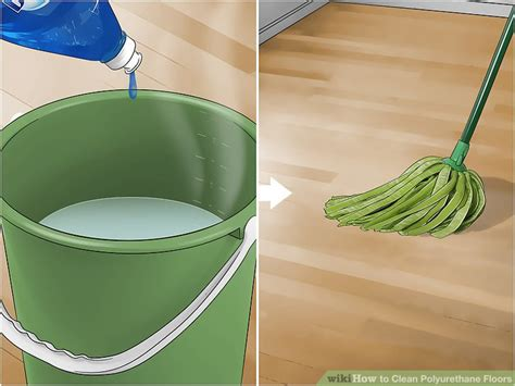 Clean Polyurethane by How To Clean Polyurethane Floors 9 Steps With Pictures