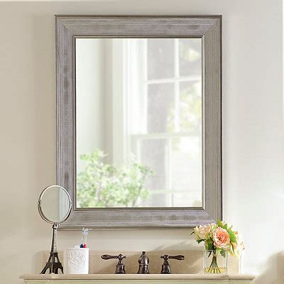 picture frame bathroom mirror decorative mirrors framed mirrors kirklands