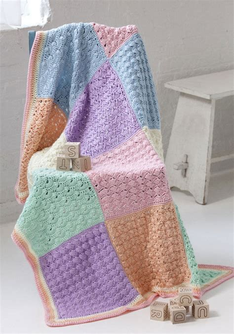 Squares Baby Blanket by Crochet Patterns Galore Sler Squares Baby Blanket