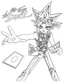 yugioh coloring pages coloring page yu gi oh coloring pages 105
