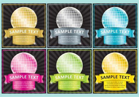 disco ball templates download free vector art stock