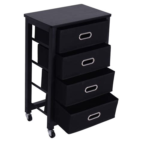 Black Office Drawers by Rolling Heavy Duty File Cabinet 4 Drawer Office Furniture