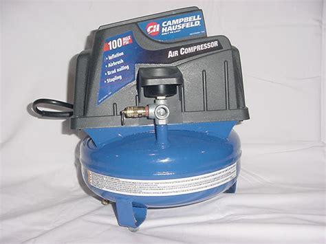 cbell hausfeld air compressor 1 gallon tank 100 psi ebay
