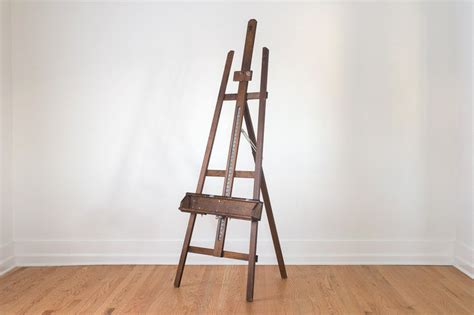 wood tripod easel woodworking projects plans