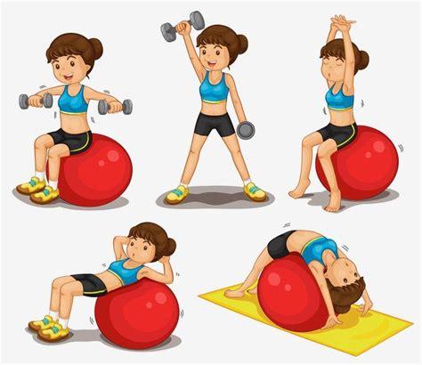 imagenes niños haciendo ejercicio fisico imagenes animadas de personas haciendo ejercicio imagui