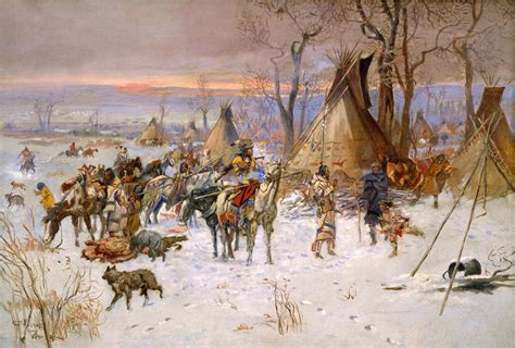 charles marion russell high quality oil painting art quality canvas print charles marion russell oil