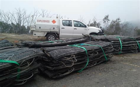 Blasting Mats For Sale by Blasting Mats Unloaded