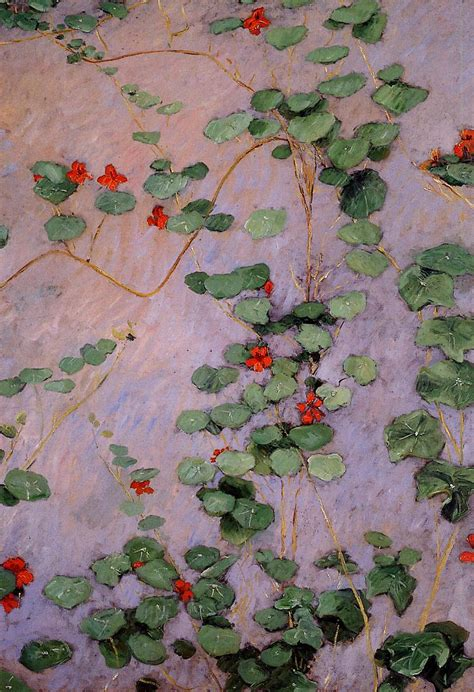 painting the modern garden 1910350028 nasturtiums gustave caillebotte wikiart org encyclopedia of visual arts