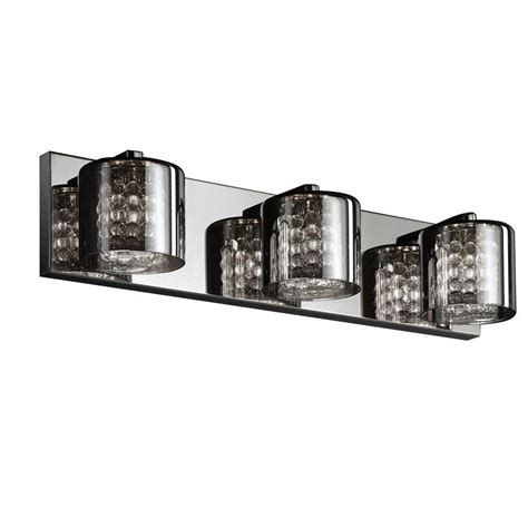 home lighting collections home decorators collection 3 light chrome vanity light
