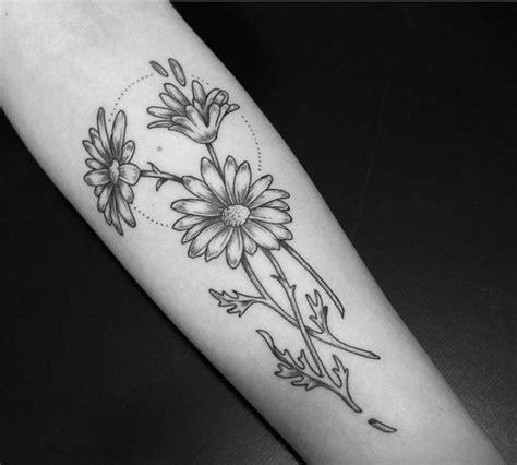 black and grey daisy tattoos 75 beautiful daisy flowers tattoos