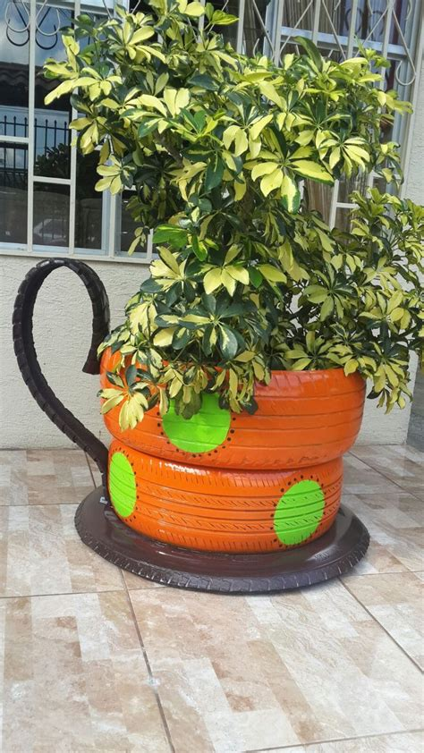 93 best images about recycled tires tire planters