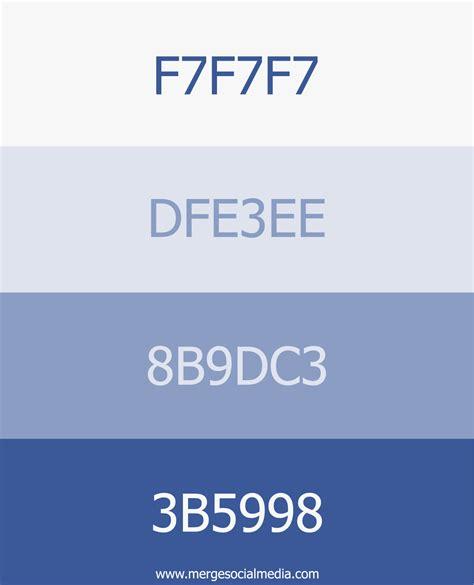 Facebook blue color palette by Merge Social Media - www ... Facebook Blue Color