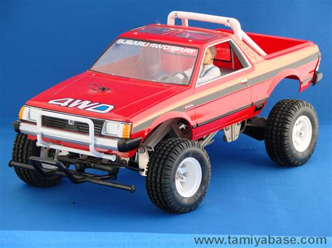 tamiya subaru brat body 58038 tamiya model database tamiyabase com