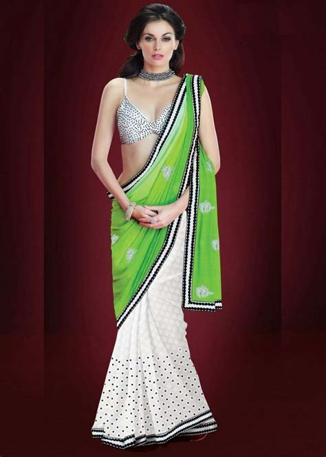pakistani indian designers party wear sarees collection