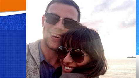 lea michele posts tribute 3 years after cory monteith s