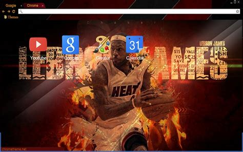 Themes By James Three | lebron james chrome web store