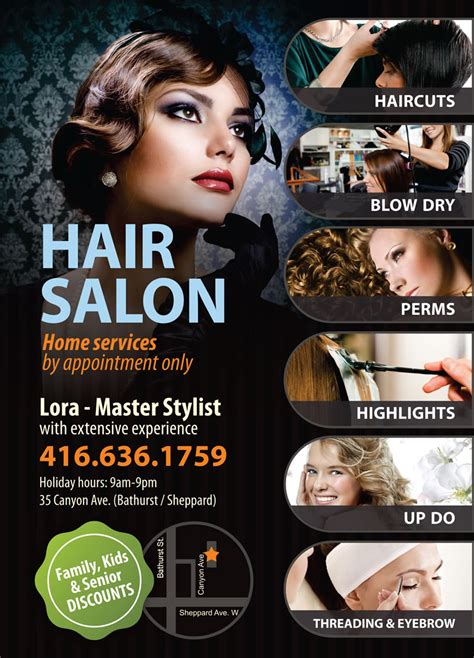 free templates for flyers hair salon 8 best images of create salon flyers beauty salon flyer