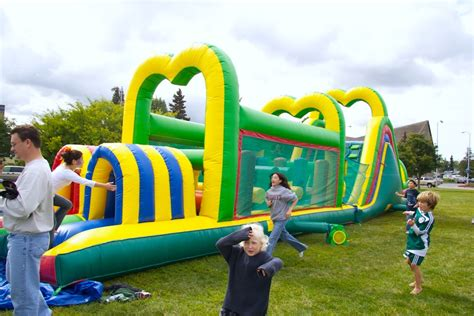 Combo By Ons Parabola obstacle course slide for alaska