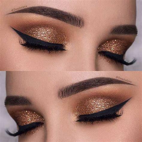 new year makeup look best ideas for makeup tutorials gold eye makeup