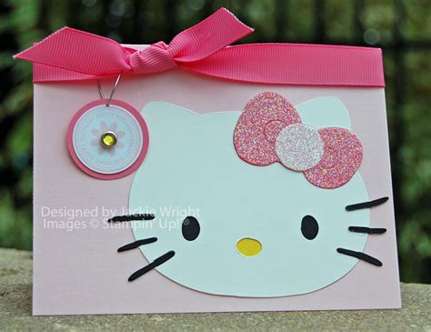 Hello Kitty Gift Card - cardmaking kitty party hello kitty invitation ideas hello kitty birthday2 card
