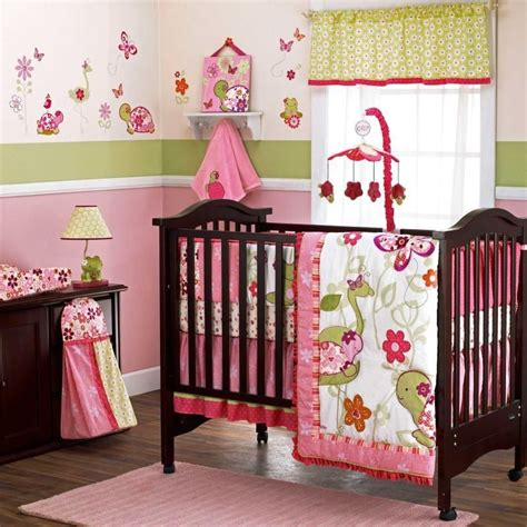 green and pink nursery baby nursery decor pottery barn kids baby girl ideas for