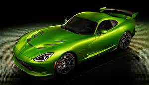 Dodge Viper Green 2014 Srt Viper Stryker Green Car Design