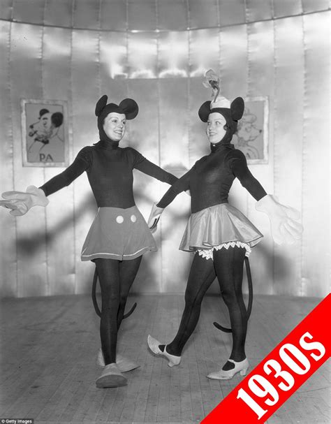 Dress Mickey Black 1 how costume trends evolved the past 115 years daily mail