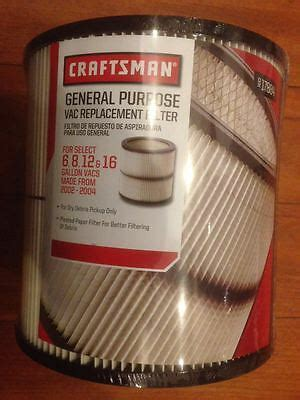 Craftsman 9 17884 Cartridge Shop Vac Filter For 6 8 12 And