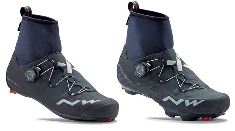 winter road bike shoes eb17 northwave flash raptors embrace cold with