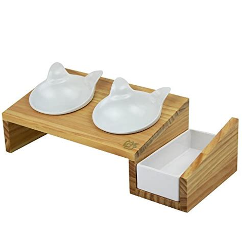 cat table vivipet cat dining table 15 176 tilted platform pet feeder
