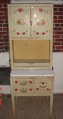 Apartment Size Hoosier Cabinet by 1000 Images About Vintage Tea Sets On Tin