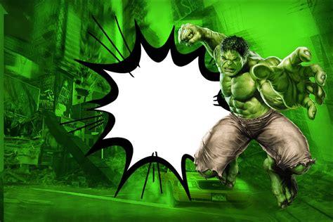 printable hulk banner hulk free printable invitations oh my fiesta in english