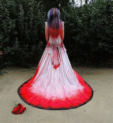 costume blood drenched gown dracula costume