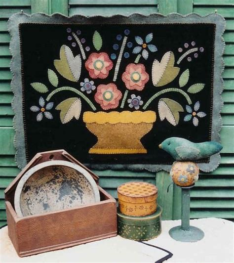 Wool Rug Supplies by Dyed Wool And Velvet Wool Applique Patterns And Kits