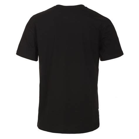 T Shirt Black twisted soul mens black line up t shirt
