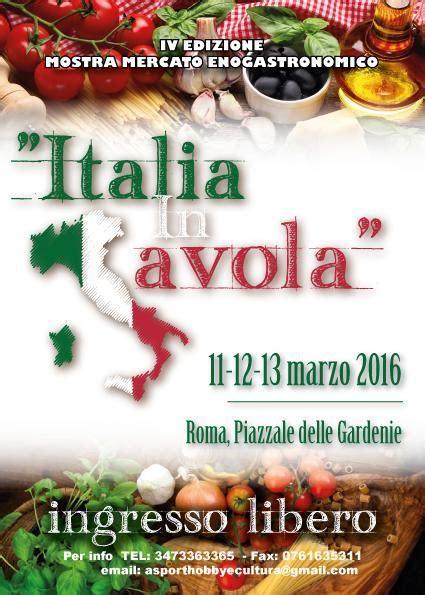 italia in tavola italia in tavola roma rm 11 03 2016 lazio in festa