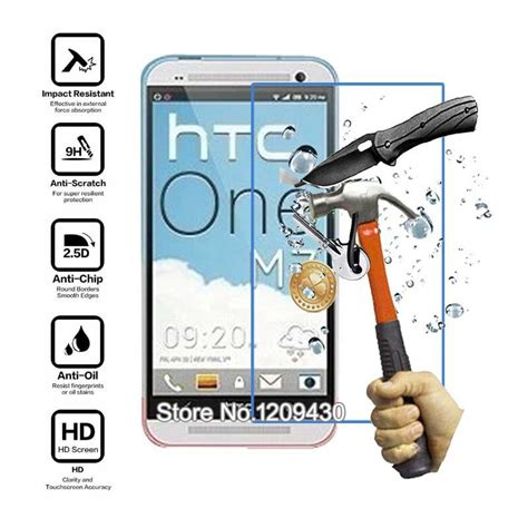 Mak Tempered Glass 2 5d Htc One M7 2pcs for htc one m7 2 5d 0 3mm premium tempered glass