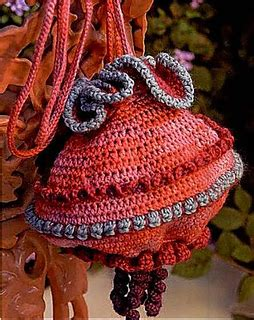crochet lantern bag pattern ravelry chinese lantern purse pattern by shelby allaho